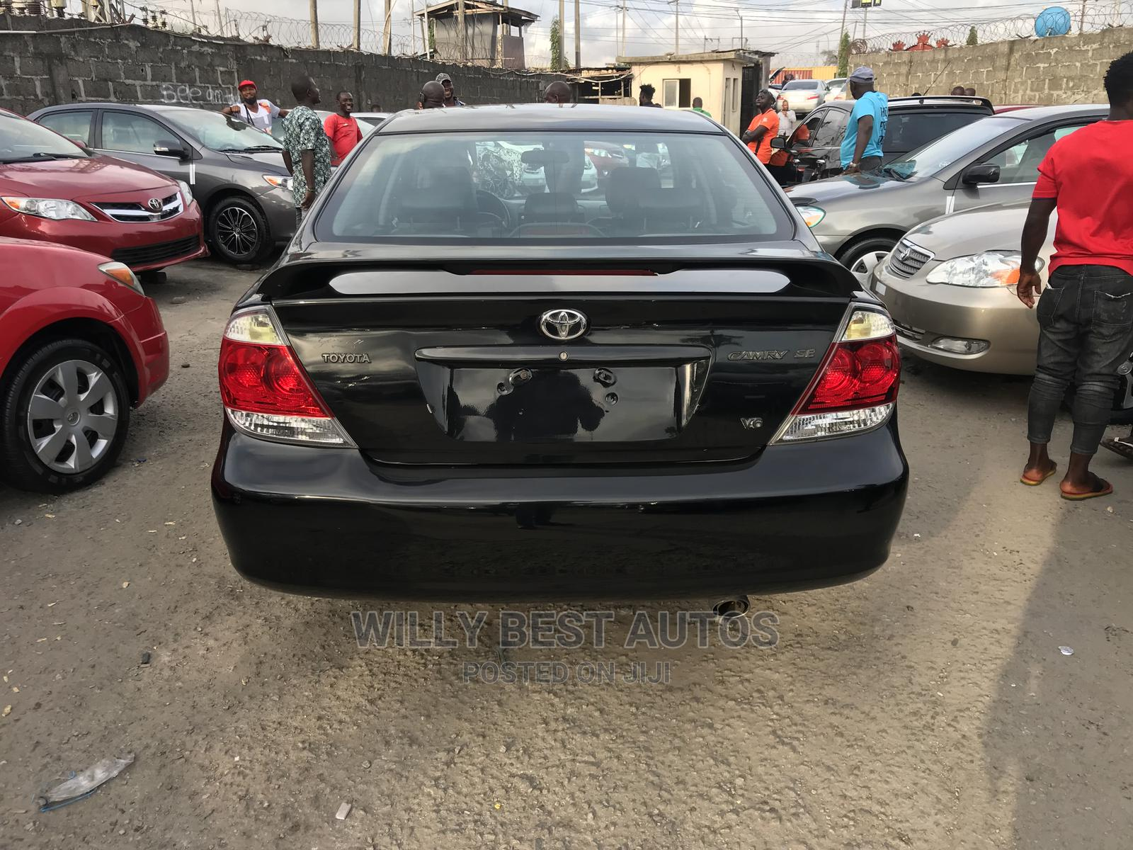 Toyota Camry 2006 Black   Cars for sale in Amuwo-Odofin, Lagos State, Nigeria