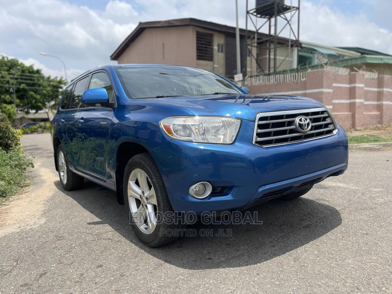 Archive: Toyota Highlander 2008 Limited Blue