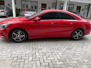 Mercedes-Benz CLA-Class 2015 Red | Cars for sale in Lagos State, Surulere