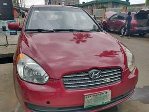 Hyundai Accent 2006 1.6 GLS Red | Cars for sale in Lagos State, Ikeja