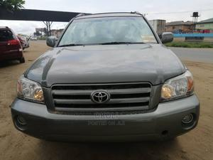 Toyota Highlander 2006 Silver | Cars for sale in Lagos State, Ojodu