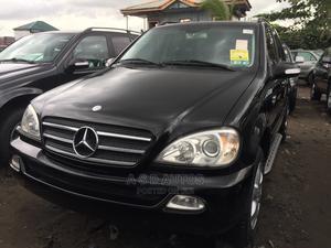 Mercedes-Benz M Class 2004 ML 350 Black | Cars for sale in Lagos State, Amuwo-Odofin