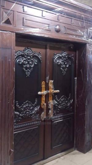5ft Turkey Copper Pillar, Ark and Cap Door   Doors for sale in Lagos State, Orile