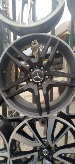 Mercedes Benz 18rim Pure Black | Vehicle Parts & Accessories for sale in Lagos State, Ikeja