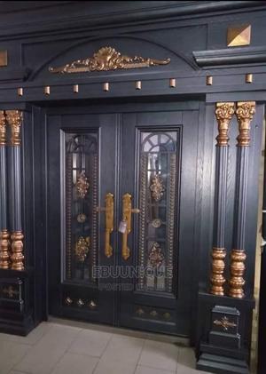 5ft Copper, Ark Pillar and Cap Security Turkey Door   Doors for sale in Lagos State, Orile