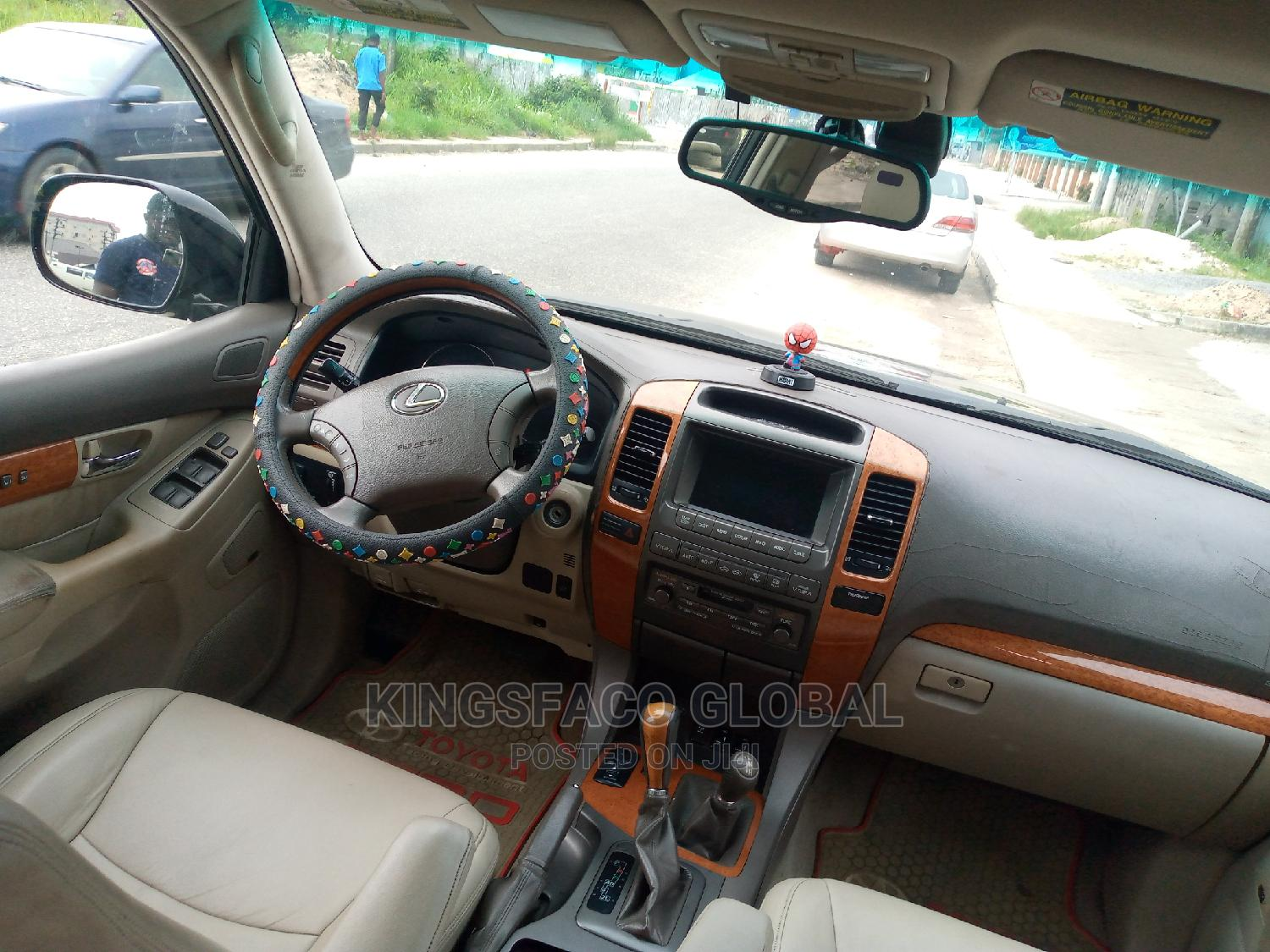 Lexus GX 2005 470 Sport Utility Black | Cars for sale in Port-Harcourt, Rivers State, Nigeria