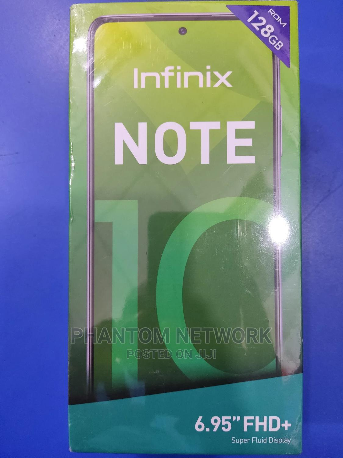 Archive: New Infinix Note 10 128 GB Green