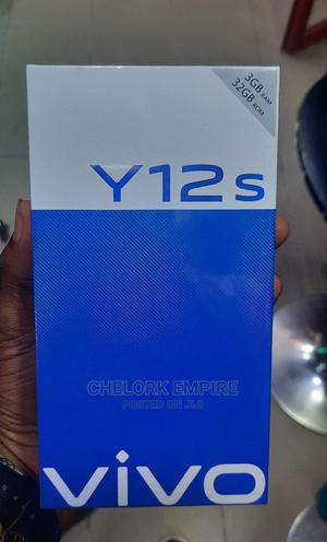 New Vivo Y12s 32 GB Blue   Mobile Phones for sale in Lagos State, Ikeja