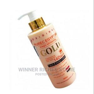 Pure Gold Egyptian Whitening Lotion | Bath & Body for sale in Lagos State, Mushin