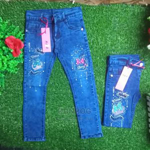 Brand New Quality Girls Jeans Trouser   Children's Clothing for sale in Lagos State, Ikeja
