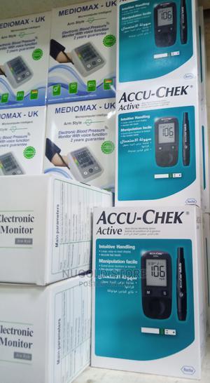 ACCU-CHEK ACTIVE Blood Glucose Level Monitor | Medical Supplies & Equipment for sale in Lagos State, Lagos Island (Eko)