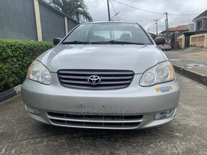 Toyota Corolla 2004 Sedan Automatic Silver | Cars for sale in Lagos State, Amuwo-Odofin