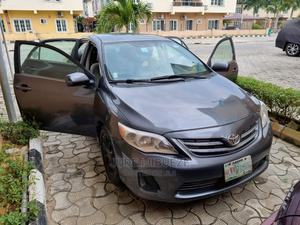 Toyota Corolla 2013 Gray   Cars for sale in Lagos State, Alimosho