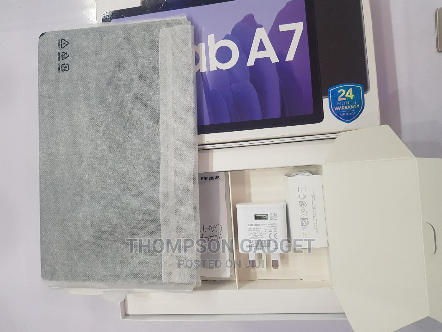 New Samsung Galaxy Tab a 7.0 32 GB Gray | Tablets for sale in Wuse, Abuja (FCT) State, Nigeria