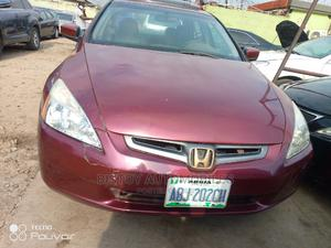 Honda Accord 2005 Red | Cars for sale in Lagos State, Ikeja