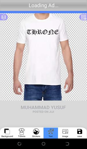 White Casual Quality T-Shirt | Clothing for sale in Abuja (FCT) State, Dei-Dei