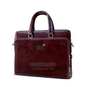 Mont Blanc Leather Laptop Bag   Bags for sale in Lagos State, Ikeja