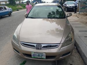Honda Accord 2007 Gold   Cars for sale in Rivers State, Port-Harcourt
