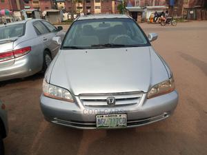 Honda Accord 2002 EX Automatic Silver | Cars for sale in Lagos State, Isolo