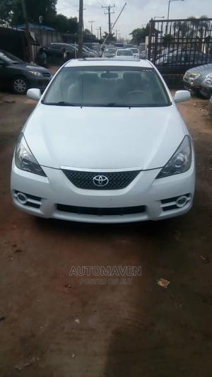 Toyota Solara 2008 2.4 Coupe White | Cars for sale in Lagos State, Ikeja