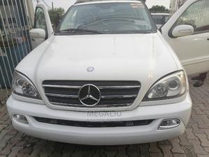 Mercedes-Benz M Class 2004 ML 350 White   Cars for sale in Lagos State, Ikeja