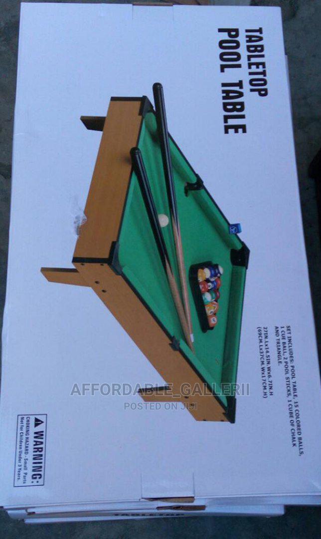 Portable Mini Pool Table | Books & Games for sale in Ifako-Ijaiye, Lagos State, Nigeria