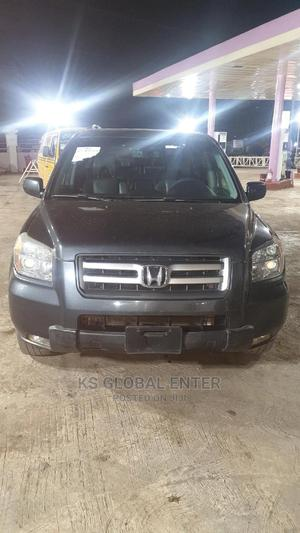 Honda Pilot 2007 EX 4x2 (3.5L 6cyl 5A) Gray | Cars for sale in Lagos State, Abule Egba