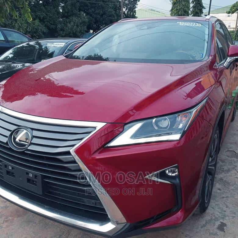 Archive: Lexus RX 2017 350 AWD Red