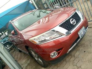 Nissan Pathfinder 2013 Platinum 4x4 Red   Cars for sale in Lagos State, Ojo