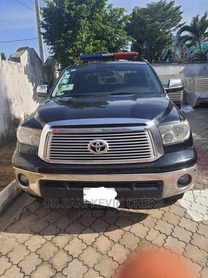 Toyota Tundra 2012 Double Cab 4x4 Limited Black | Cars for sale in Lagos State, Ajah