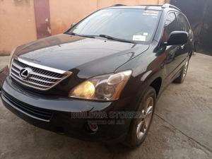 Lexus RX 2008 400h AWD Black | Cars for sale in Lagos State, Oshodi