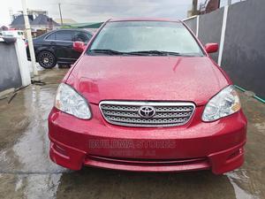 Toyota Corolla 2007 S Red | Cars for sale in Lagos State, Amuwo-Odofin