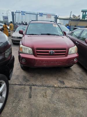 Toyota Highlander 2007 Limited V6 Red   Cars for sale in Lagos State, Ikorodu
