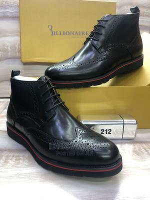 Lovely Men's Ankle Boots Black and Brown   Shoes for sale in Lagos State, Lekki
