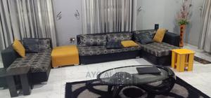 7 Seater Sofa + TV Stand and Stools | Furniture for sale in Oyo State, Ibadan