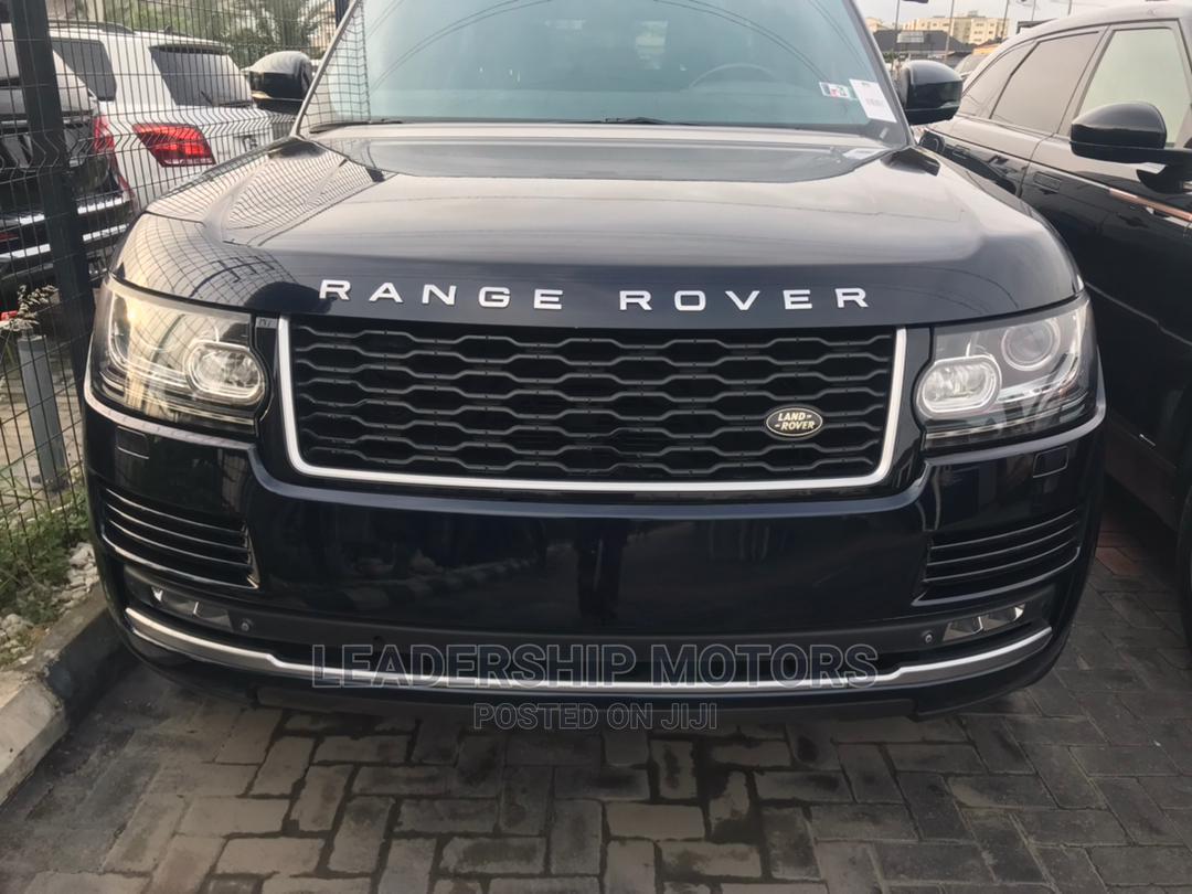 Land Rover Range Rover 2014 Blue
