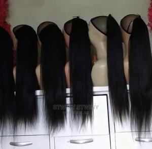 Super Soft Kinky Straight Ponytail 22inches and 30inches   Hair Beauty for sale in Lagos State, Ikorodu