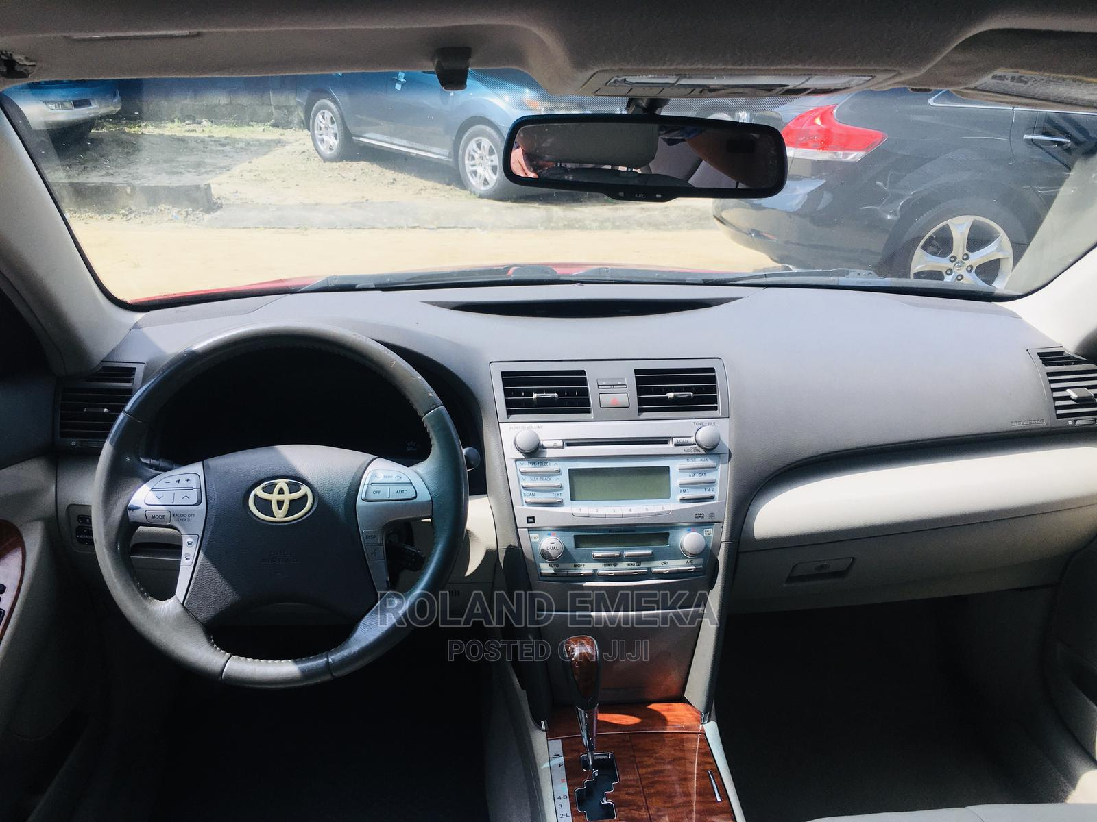 Toyota Camry 2009 Red | Cars for sale in Port-Harcourt, Rivers State, Nigeria
