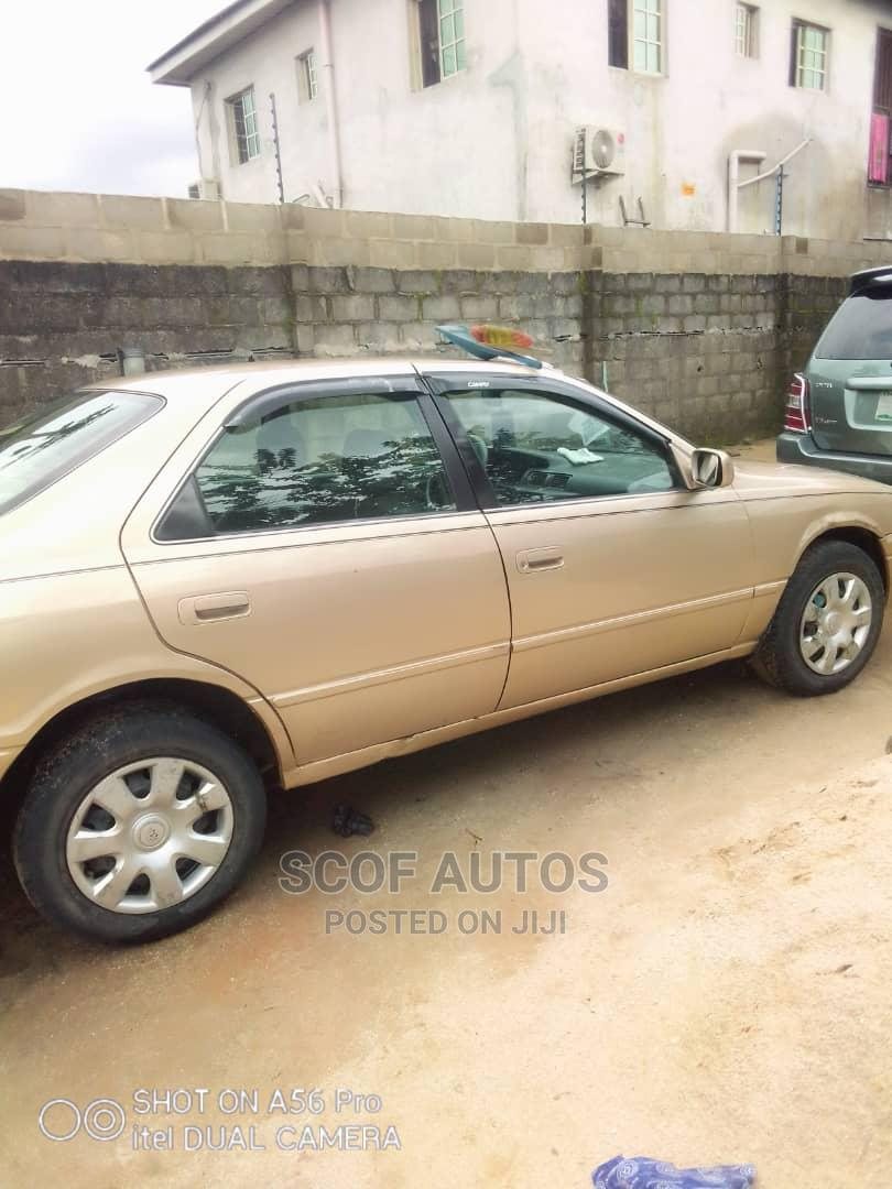 Toyota Camry 1999 Automatic Gold | Cars for sale in Port-Harcourt, Rivers State, Nigeria