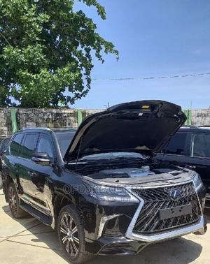 New Lexus LX 2020 570 AWD Black   Cars for sale in Lagos State, Lekki