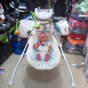 Tokunbo Uk Used Baby Swing With Mp3 | Children's Gear & Safety for sale in Lagos State, Ikeja