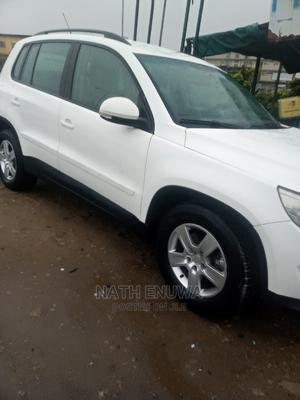 Volkswagen Tiguan 2011 SE 4Motion Off White | Cars for sale in Lagos State, Surulere