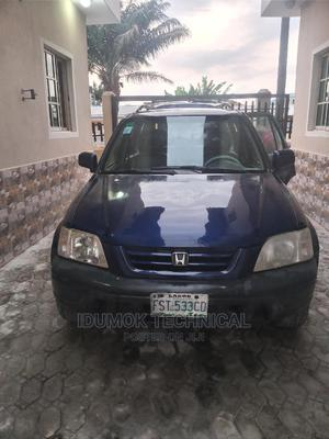 Honda CR-V 1999 2.0 4WD Automatic Blue | Cars for sale in Lagos State, Ajah