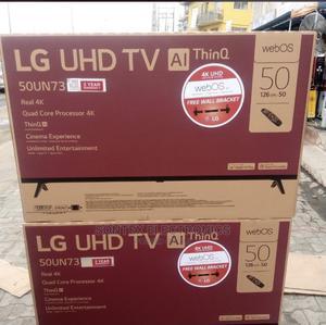 LG 50'' 4K UHD Smart ,Satellite TV + Magic Remote -50 Inch | TV & DVD Equipment for sale in Lagos State, Ikeja