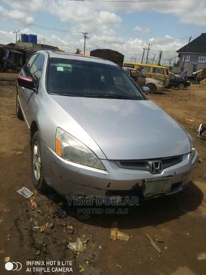 Honda Accord 2004 Automatic Silver | Cars for sale in Lagos State, Alimosho