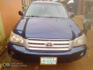 Toyota Highlander 2004 Limited V6 4x4 Blue | Cars for sale in Lagos State, Ifako-Ijaiye
