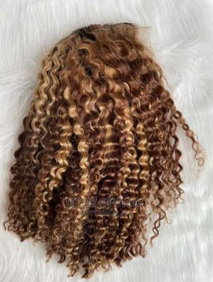 Frontal Curly Hair | Hair Beauty for sale in Lagos State, Yaba