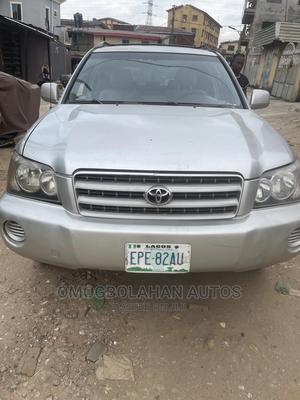 Toyota Highlander 2003 Base AWD Silver   Cars for sale in Lagos State, Agboyi/Ketu