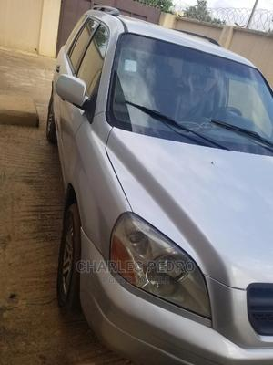 Honda Pilot 2004 EX-L 4x4 (3.5L 6cyl 5A) Silver | Cars for sale in Lagos State, Ojo
