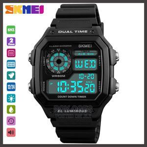 Men's Digital Waterproof Multifunctional Wristwatch | Watches for sale in Lagos State, Ikorodu